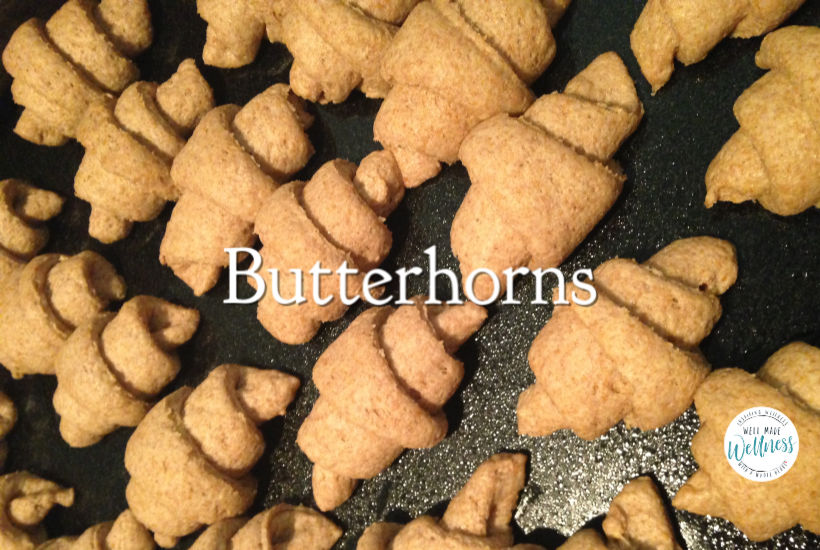 Butterhorn bread recipe using wheat and kamut
