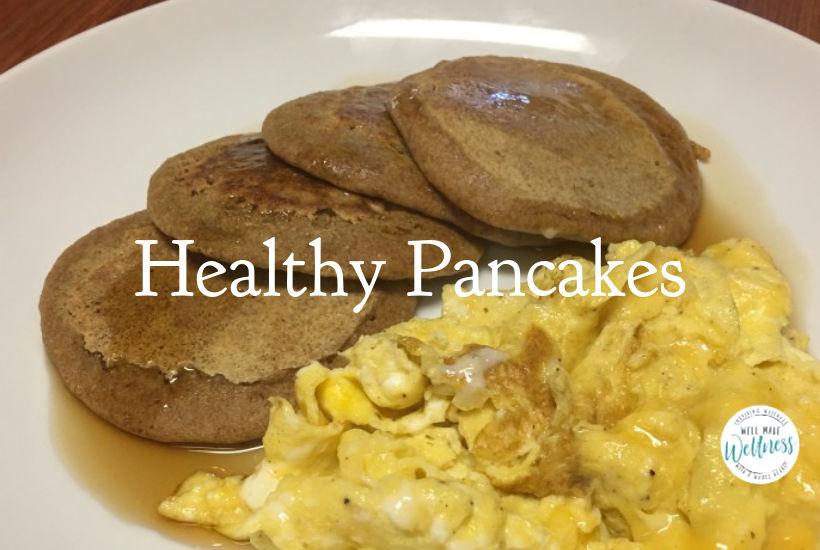 Healthy Pancakes breakfast recipe