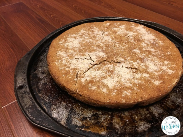 Sourdough Pizza Crust – Cornmeal Dusted – Well Made Wellness