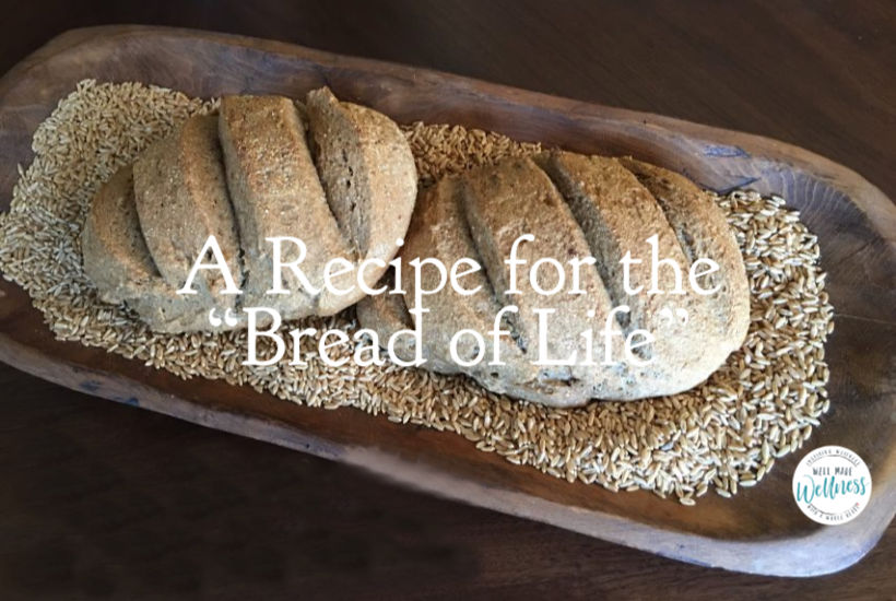 A recipe for the Bread of Life - growing to know Jesus more and more.