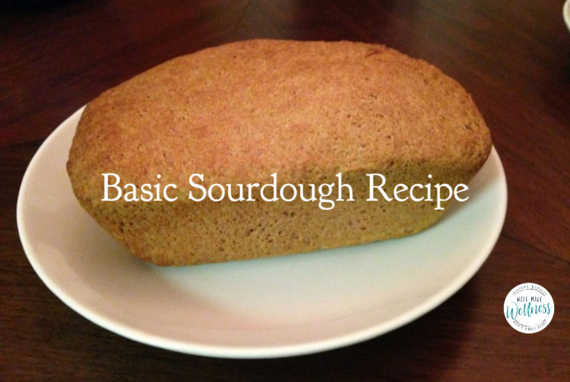 Basic sourdough bread recipe, a timeless, proven winner