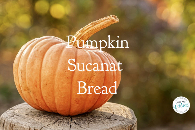 A recipe for Pumpkin Sucanat Bread
