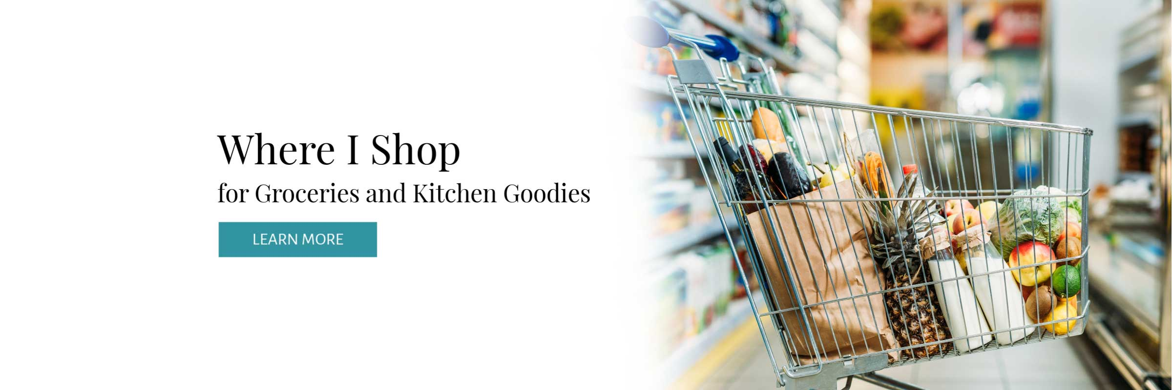 Where Well Made Wellness shops for groceries and kitchen goodies.