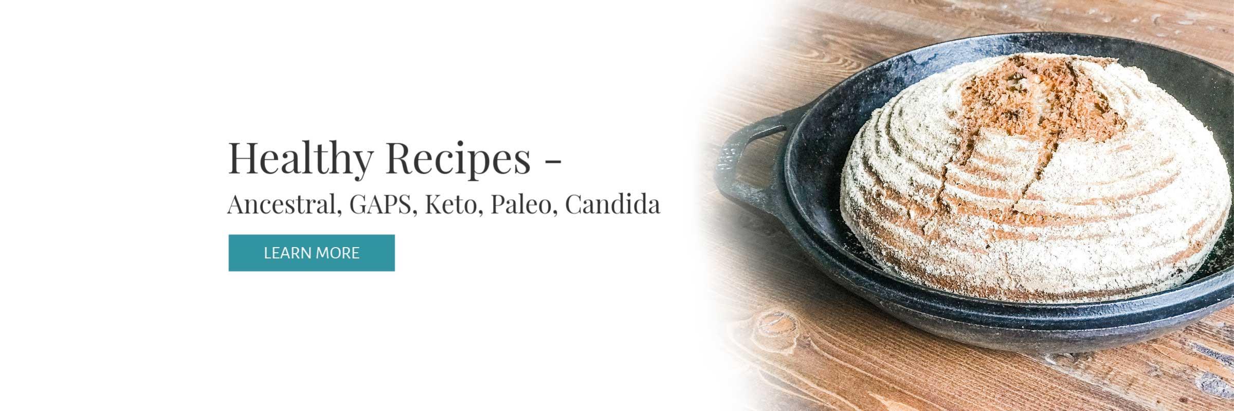 Well Made Wellness healthy recipes for Ancestral, GAPS, Keto, Paleo, Candida