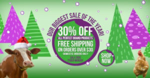 Perfect Supplements biggest sale of the year!