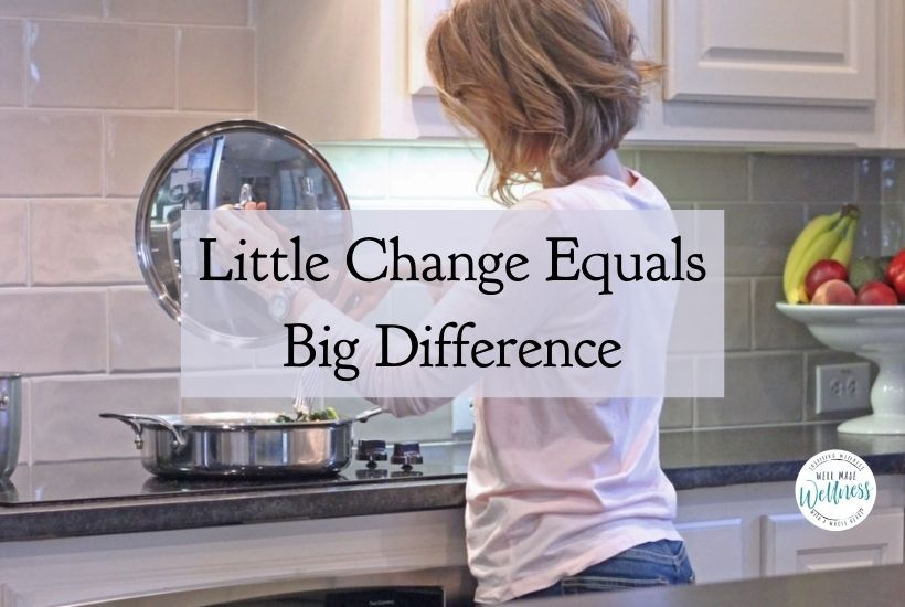 Little change equals big difference. God's little changes will make a huge difference in your life.